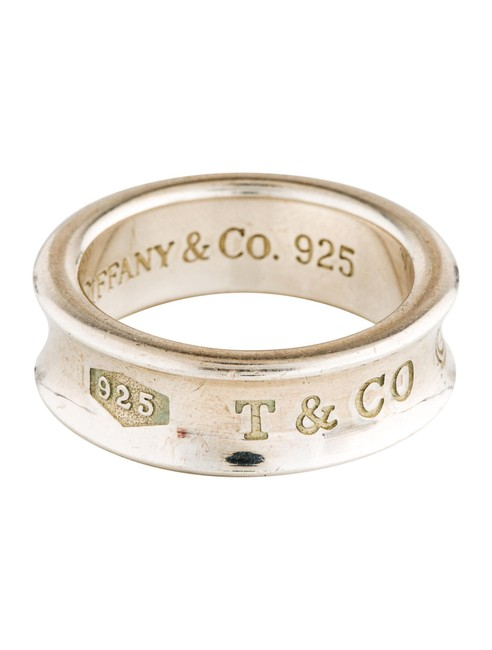 Tiffany & Co. Silver 1837 Concave Ring Tiffany & Co. Silver 1837 Concave Ring Image 1