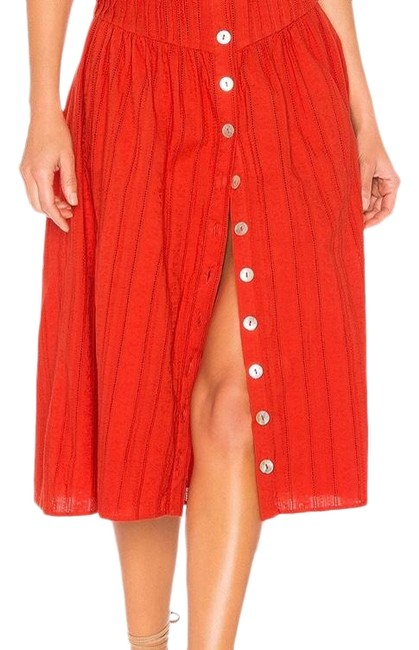 Item - Cherry Red Skirt Size 4 (S, 27)