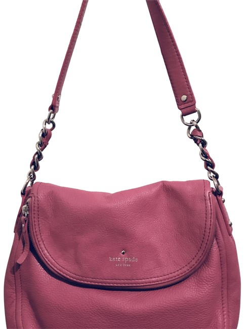 Kate Spade Cobble Hill In Ringwald Pink Leather Shoulder Bag Kate Spade Cobble Hill In Ringwald Pink Leather Shoulder Bag Image 1