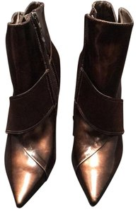 Marciano Stiletto Nightout Brown Patent Boots