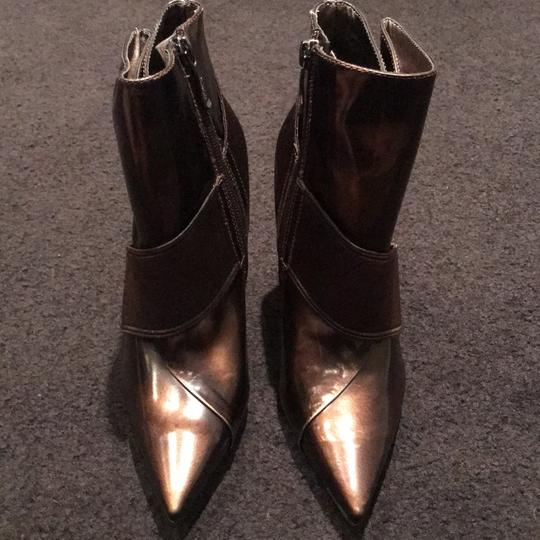 Marciano Stiletto Nightout Brown Patent Boots Image 10