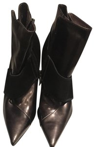 Marciano Stiletto New Night Out Black Patent Boots