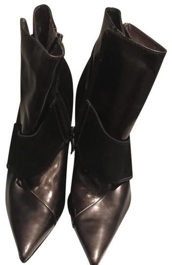 Marciano Stiletto New Night Out Black Patent Boots Image 0