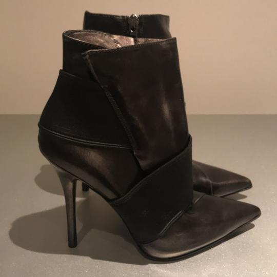 Marciano Stiletto New Night Out Black Patent Boots Image 2