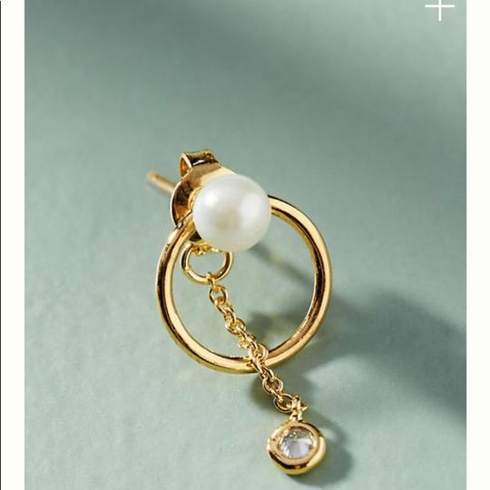 Anthropologie Anthropologie Alicia front back earring Image 1