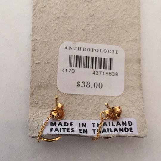 Anthropologie Anthropologie Alicia front back earring Image 7