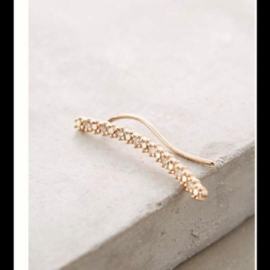 Anthropologie Anthropologie sparkly strung climbers Image 1