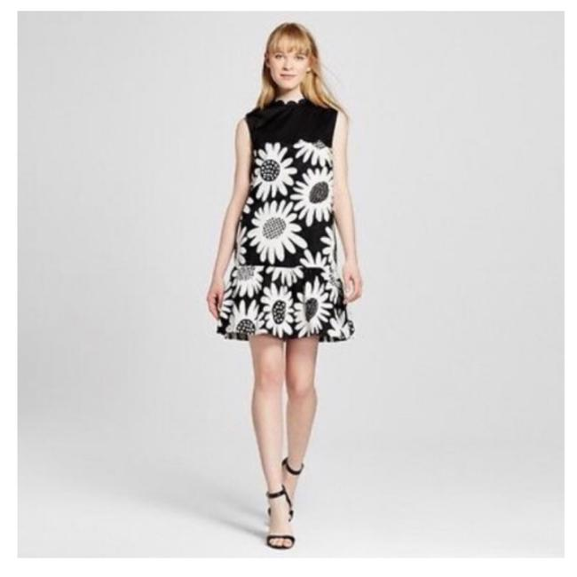 Victoria Beckham for Target short dress Black/White on Tradesy Image 2