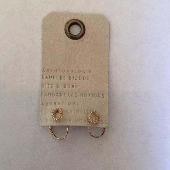 Anthropologie Anthropologie hooped front back earring Image 4