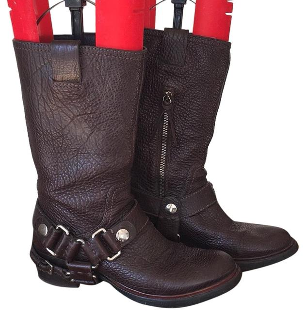 Item - Brown Leather Riding Boots/Booties Size US 7.5 Regular (M, B)