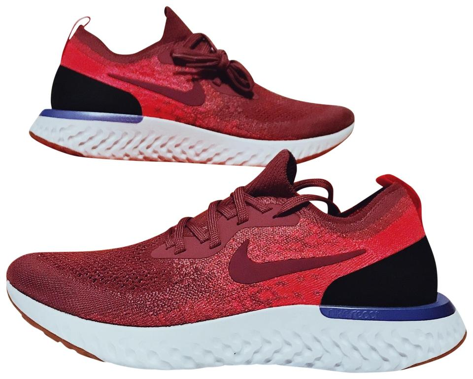 0672be7c74a8 Nike Vintage Wine Epic React Flyknit Sneakers Size US 10.5 Regular ...
