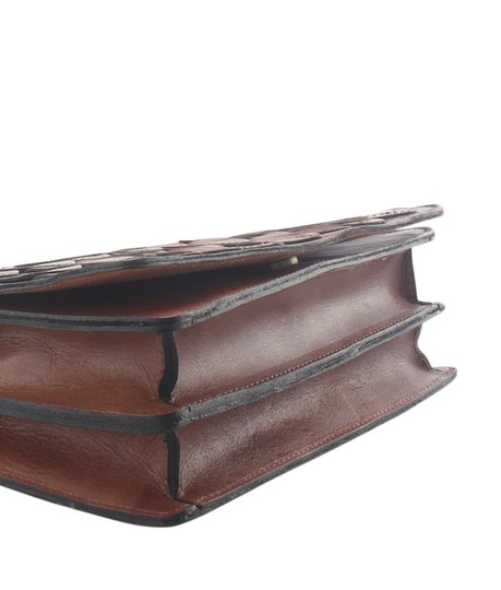 Patricia Nash Leather Dustbag Adult Cross Body Bag Image 6