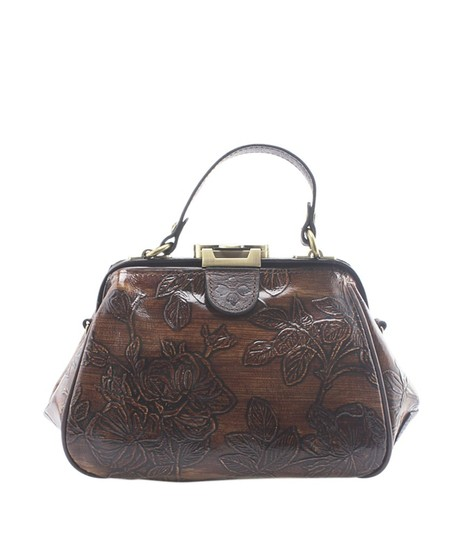 Preload https://img-static.tradesy.com/item/24753743/gracchi-small-frame-floral-2-way-164946-brown-leather-cross-body-bag-0-0-540-540.jpg