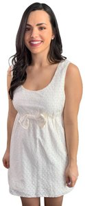 Juicy Couture short dress White Bows Eyelet Lace on Tradesy