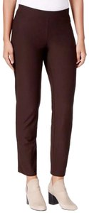 Eileen Fisher Boot Cut Pants Brown