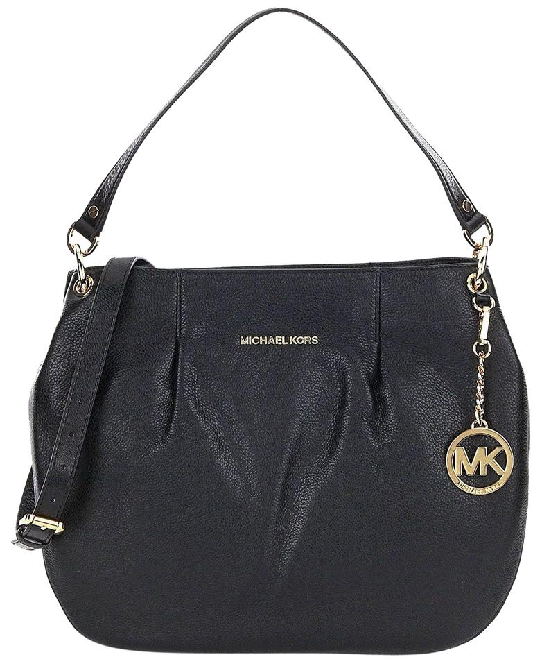 c81201279b26 Michael Kors Bedford Leather Large Convertible Crossbody Handbag Shoulder  Bag Image 0 ...