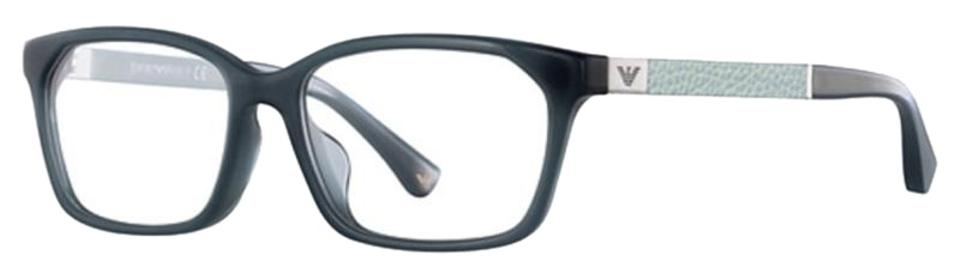 6d6244ffe3f8 Emporio Armani Opal Grey Green Frame   Demo Customisable Lens Ea3095f 5539  Rectangular Style Unisex Eyeglasses