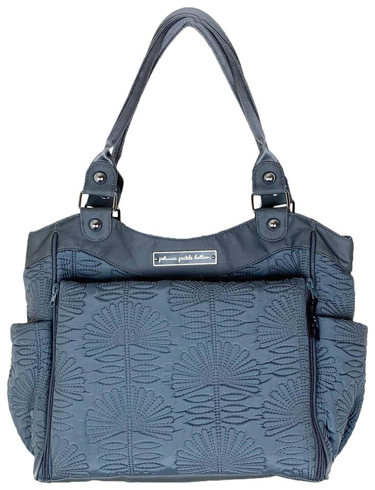 e25d2344a6cf Petunia Pickle Bottom Champ-elysees Stop City Carry All Gray Diaper ...