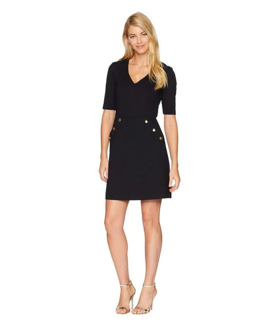 Trina Turk Black Valentina Work/Office Dress Size 0 (XS) Trina Turk Black Valentina Work/Office Dress Size 0 (XS) Image 1