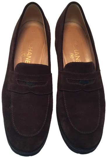 Preload https://img-static.tradesy.com/item/24755044/chanel-brown-suede-loafers-flats-size-eu-405-approx-us-105-regular-m-b-0-1-540-540.jpg