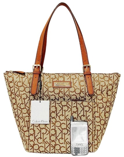 Preload https://img-static.tradesy.com/item/24755311/calvin-klein-hudson-monogram-khakibrown-luggage-jacquard-fabric-satchel-0-1-540-540.jpg