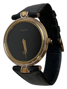 c48197b0b42 Gucci Gold Silver Black Men s Watch - Tradesy
