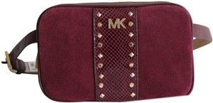 Michael Kors Michael Kors Studded Leather and Suede Fanny Pack Size S/M