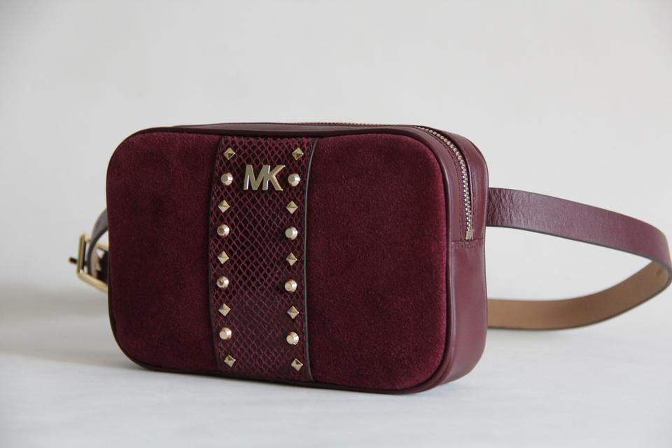 e9d3d902414eff Michael Kors Michael Kors Studded Leather and Suede Fanny Pack Size S/M  Image 11. 123456789101112