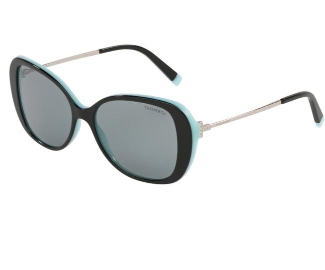 Tiffany & Co. Black/Blue 0tf4156 8055/1 Sunglasses Tiffany & Co. Black/Blue 0tf4156 8055/1 Sunglasses Image 1