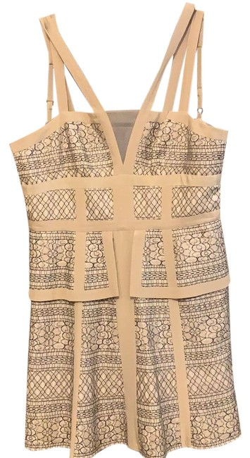 Preload https://img-static.tradesy.com/item/24756028/bcbgmaxazria-creme-bcbg-lace-pattern-short-cocktail-dress-size-0-xs-0-1-650-650.jpg