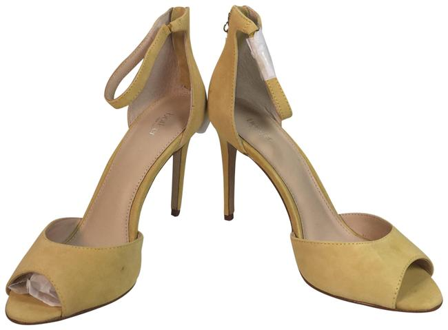 Yellow Anna Ankle Strap Dress Sandals Pumps Size US 9 Regular (M, B) Yellow Anna Ankle Strap Dress Sandals Pumps Size US 9 Regular (M, B) Image 1