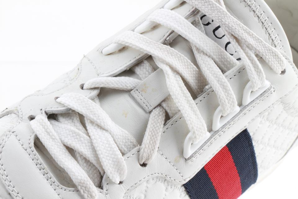 494443026 Gucci Multicolor Gg Web Trainer Sneakers Size US 10.5 Regular (M, B ...