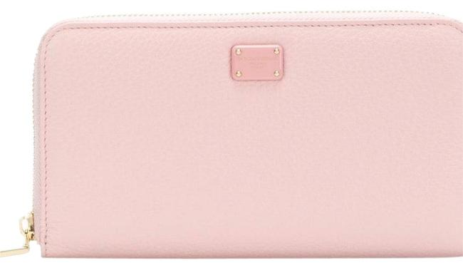 Dolce&Gabbana Rose Pink Zip Around Wallet Dolce&Gabbana Rose Pink Zip Around Wallet Image 1