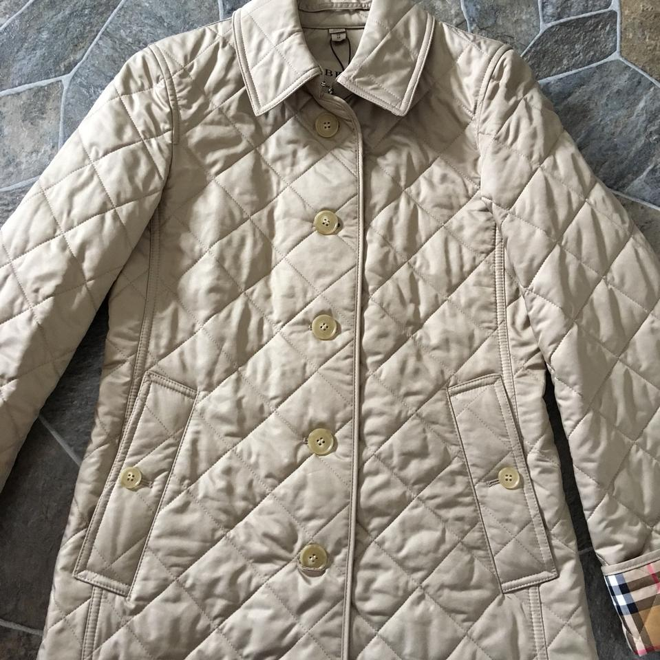 cb1de4189c60c Burberry Canvas Frankby 18 Quilted Jacket Size 2 (XS) - Tradesy