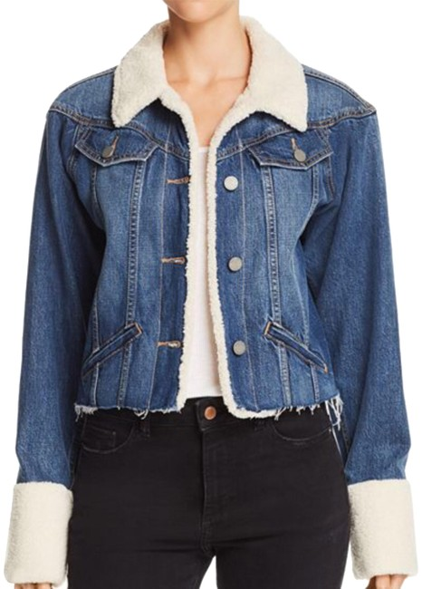 Item - Tory Sherpa Trimmed Jacket Size 4 (S)