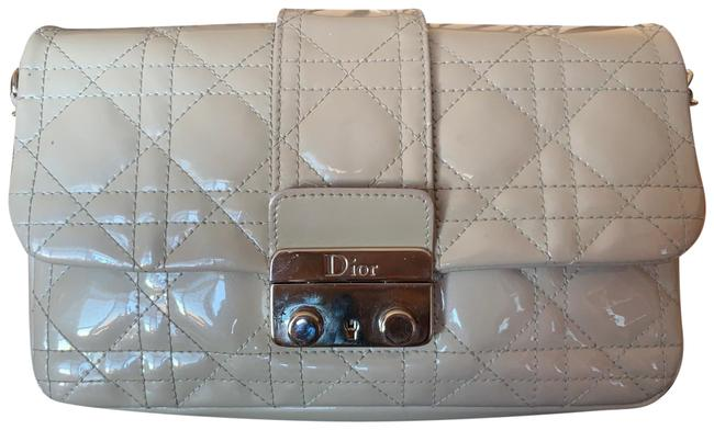 Item - Miss Promenade Pouch Gray Patent Leather Cross Body Bag
