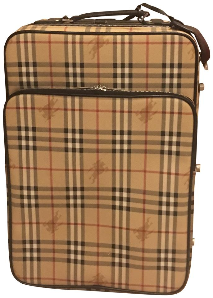 a6ee51756317 Burberry Classic Trolley Leather Diaper Bag - Tradesy