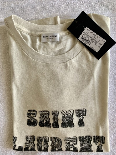 Saint Laurent T Shirt White Image 4