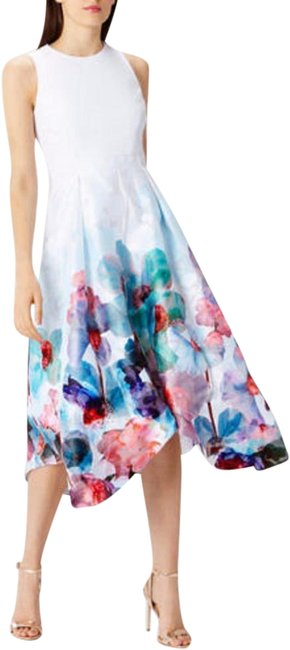 Item - Pinks Blues Greens £179 Azure Orsay Midi Occasion Us Nwot Mid-length Cocktail Dress Size 6 (S)