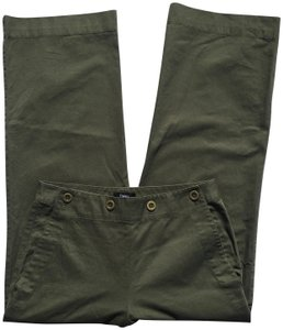 Theory #chinos Wide Leg Pants Olive green