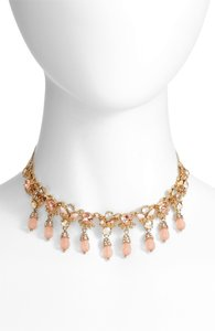 Marchesa Marchesa beads and crystal chocker adjustable necklace