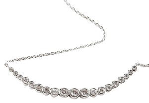 Henri Bendel New Henri Bendel Luxe Pave Choker Necklace Silver Plated