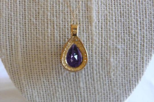Other amethyst and diamond 10k gold Image 2