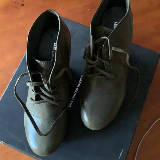 United Nude Army Green Boots Image 1