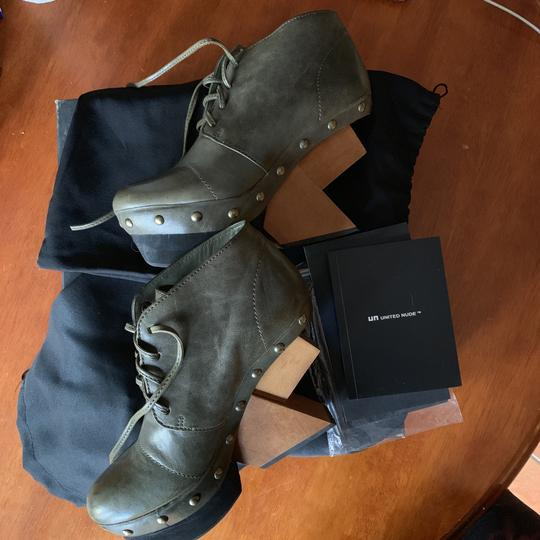 United Nude Army Green Boots Image 10