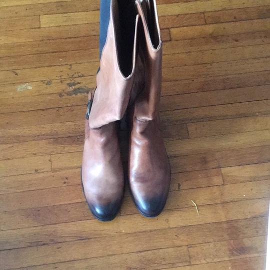Vince Camuto Brown/Black Boots Image 2