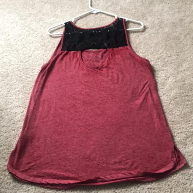 Maurices Top Red/black Image 1