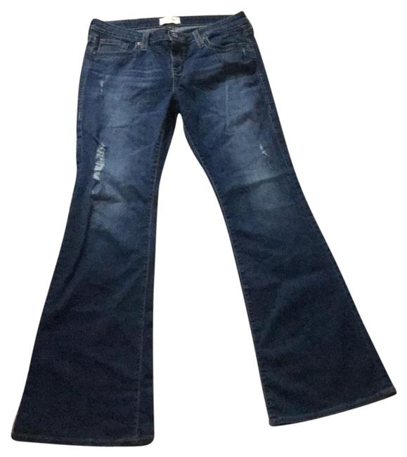 Big Star Flare Leg Jeans-Distressed Image 0