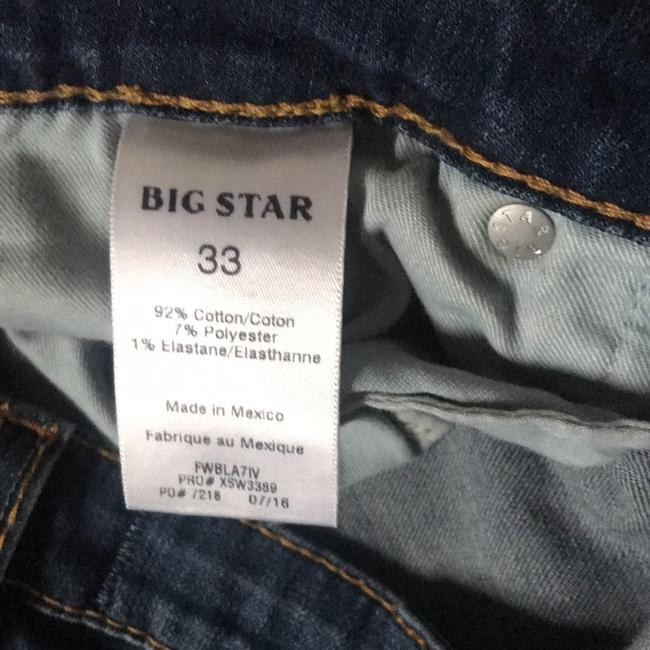 Big Star Flare Leg Jeans-Distressed Image 4