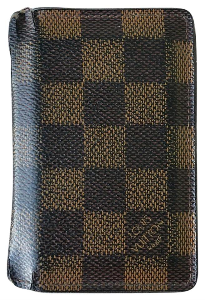 a67f38730dae Louis Vuitton Brown Leather Classic Cardholder Wallet - Tradesy